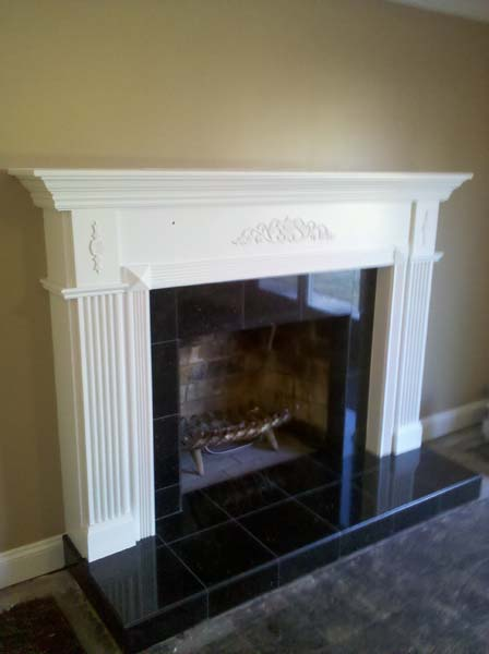 Pleasant Custom Fireplaces Mantels Bm Custom Carpentry Home Remodeling Inspirations Gresiscottssportslandcom